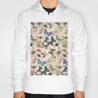 insect Hoodies featuring Insect Jungle by Galvanise The Dog