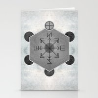 compass Stationery Cards featuring Compass by Joris182