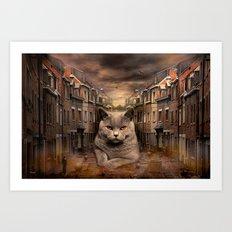 The City Cat Diesel Art Print