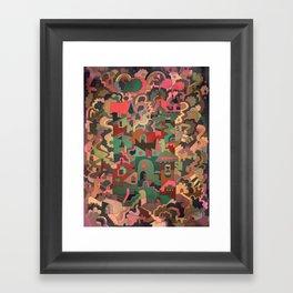 Vershina Framed Art Print