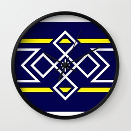Minnion Flag Wall Clock