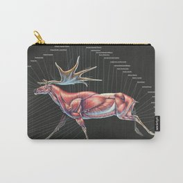 Megaloceros Giganteus Muscle Study Carry-All Pouch
