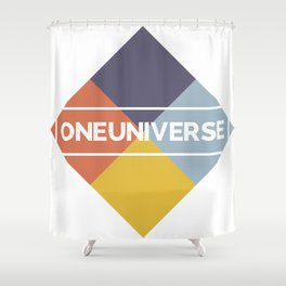 One Universe Shower Curtain