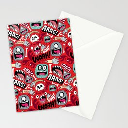 AAAGHHH! PATTERN! Stationery Cards