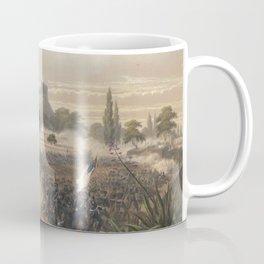 Nebel & Bayot - The Mexican-American War 11: Storming of Chapultepec; Quitman's Attack (1851) Coffee Mug