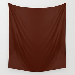 French Puce - solid color Wall Tapestry