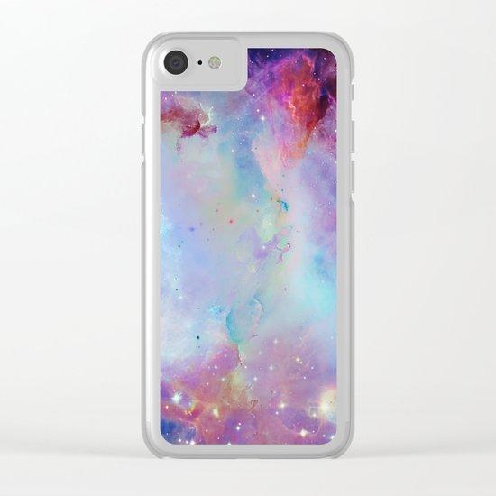 A Galaxy Far Far Away Clear iPhone Case