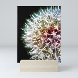 Fractal dandelion Mini Art Print