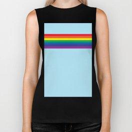 Rainbow 4 Biker Tank