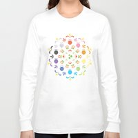 prism Long Sleeve T-shirts featuring Yoshi Prism by Ashley Hay