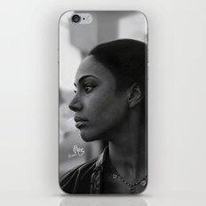 Woman in Harlem iPhone & iPod Skin