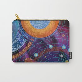 MOON AND PLANETS Carry-All Pouch