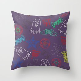 Trick or treat #3 Throw Pillow