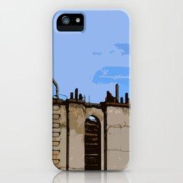 Paris Roofs iPhone Case