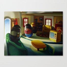 Weeburbia Canvas Print