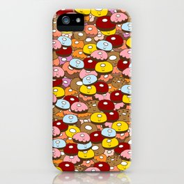 Donut time iPhone Case