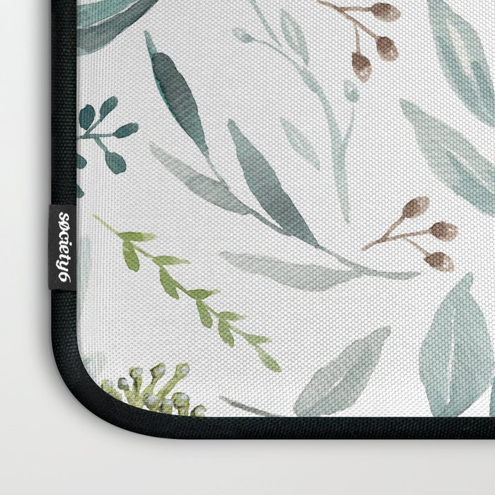 Eucalyptus pattern Laptop Sleeve