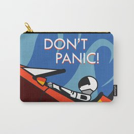 Don't Panic - Spacex Carry-All Pouch