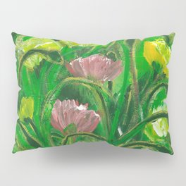 Poppies in the field Pillow Sham