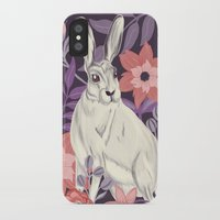 hare iPhone & iPod Cases featuring Hare by Abbie Imagine