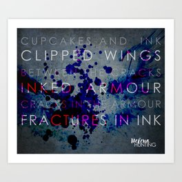 The Clipped Wings series by Helena Hunting #2 Art Print