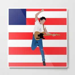 Bruce Spring steen - Born in the USA #1 Metal Print