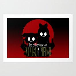 The Adventures of Popuko & Pipimi Art Print