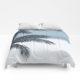 Palm and Ocean Comforters