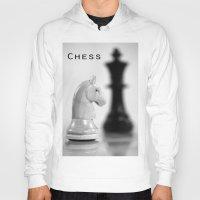 chess Hoodies featuring Chess by Falko Follert Art-FF77
