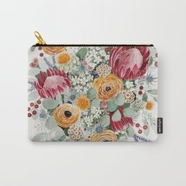 Fall Protea Bouquet Carry-All Pouch