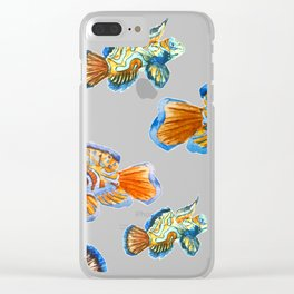 Fish Pattern 04 Clear iPhone Case