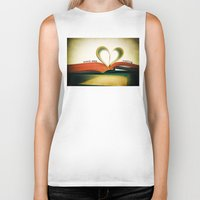 read Biker Tanks featuring Read by Lawson Images