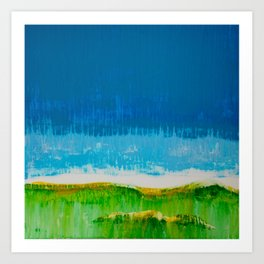 Pairie Morning Art Print