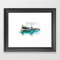 Abstract Landscape 2 Framed Art Print