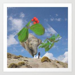Elephas canadensis Art Print