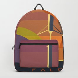 Falcon 9 Launch minimalist  Backpack