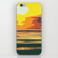 sunrise iPhone & iPod Skins featuring Sunrise by Nuam