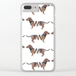 Put a Spring in Your Step Clear iPhone Case