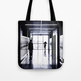 High School Blues Tote Bag