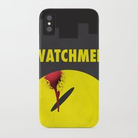 watchmen iPhone & iPod Cases featuring Watchmen by Thcenk