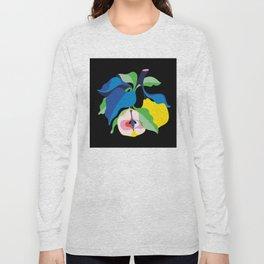 Quince noir Long Sleeve T-shirt