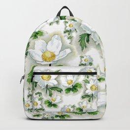 Alpine Flowers Anemones Backpack