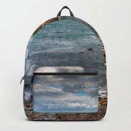 Rhoscolyn Coastline Anglesey Backpack