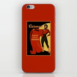 Carmen Opera (Toreador) iPhone Skin