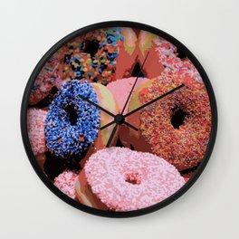 Donuts - JUSTART © Wall Clock
