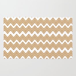Wood Triangles Pattern Rug