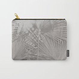 Arecales Palmae Silver Carry-All Pouch
