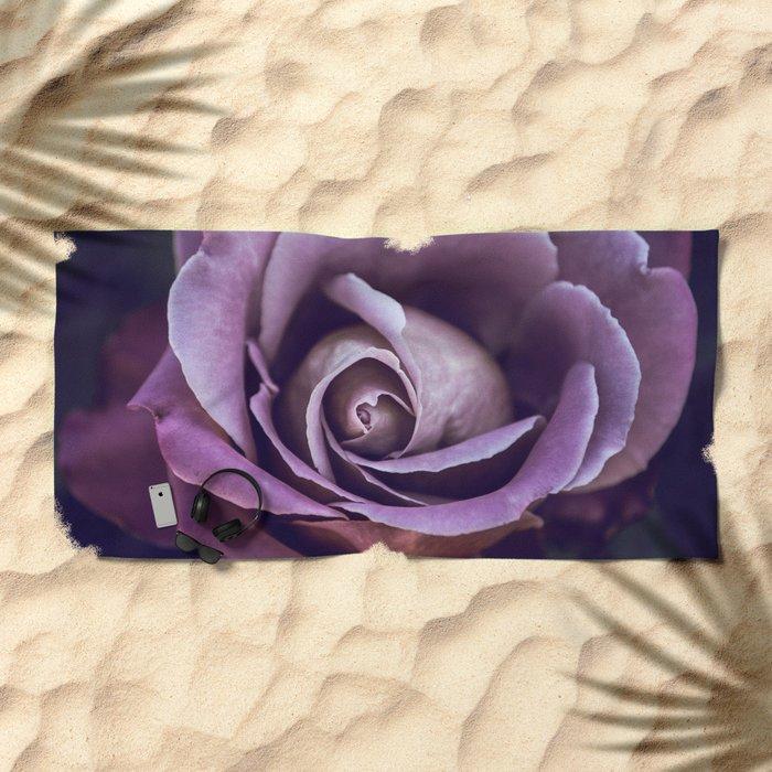 Fibonacci Rose Beach Towel