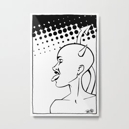 #2 Metal Print