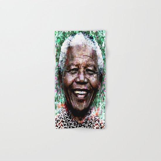 NELSON MANDELA Hand & Bath Towel